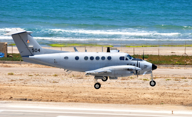 """מטוס צופית (צילום: דובר צה""""ל)"""