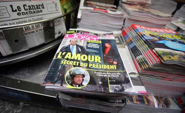 שער המגזין הצרפתי (צילום: ap)