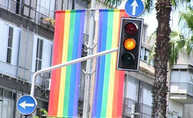 הומופוביה בתל אביב. ארכיון (צילום: חדשות 2)