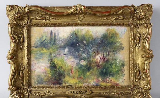 הציור הגנוב של רנואר (צילום: ap)