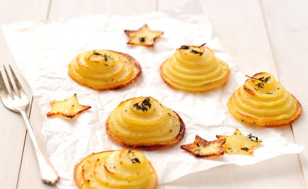 מגדל תפוחי אדמה (צילום: שרית נובק - מיס פטל, אוכל טוב)