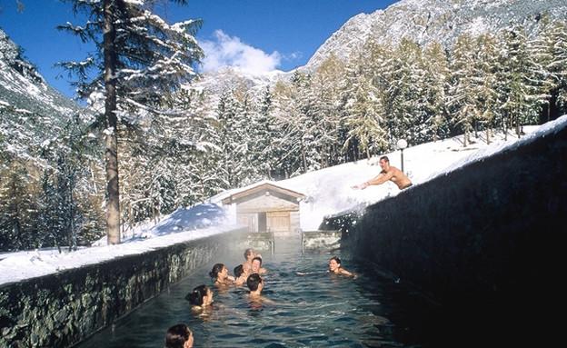 מעיינות חמים בורמיו, ספא באתרי הסקי