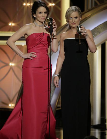 איימי פוהלר וטינה פיי בגלובוס הזהב 2014