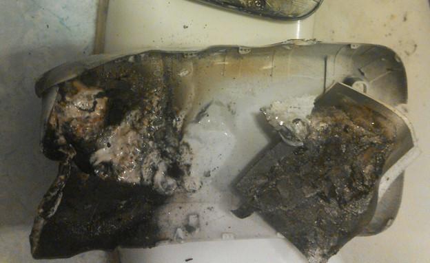 סמסונג גלקסי S3 נשרף (צילום: Reddit)