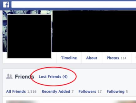 מי הסיר אותי מפייסבוק