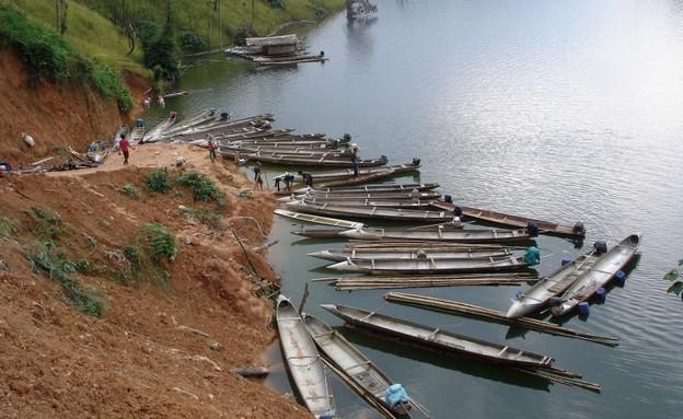סירות ממוחזרות בוייטנאם (צילום: הילי רתנר)