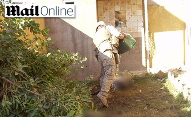 החיילים בעיראק (צילום: דיילי מייל)