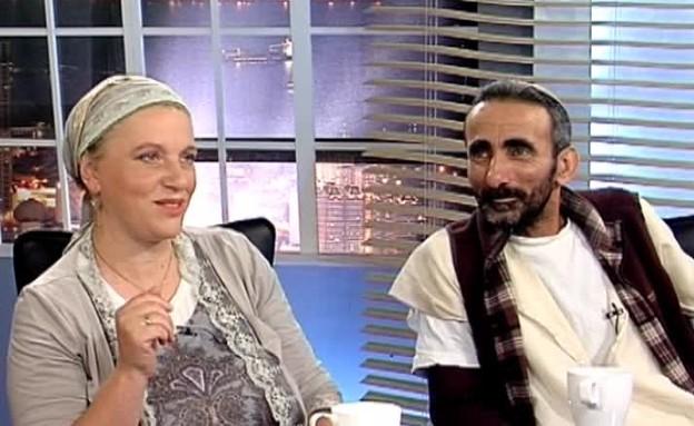 בכיוון אחר: אורה והראל חצרוני (תמונת AVI: mako)