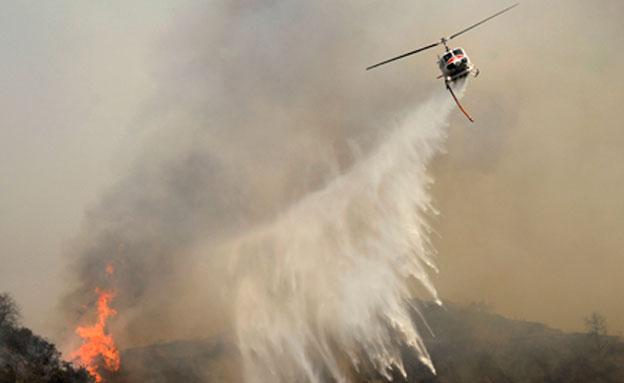 צפו: שריפת הענק בקליפורניה (צילום: רויטרס)