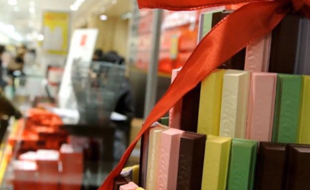 מבחר בחנות קיט-קט בטוקיו (צילום: rocketnews24, אוכל טוב)