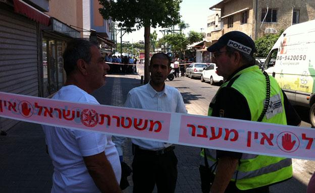 דקירה בדרום תל אביב (צילום: חדשות 2)