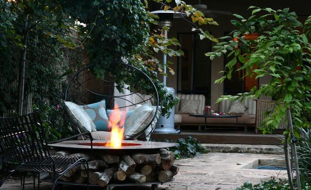 גינות, עונות מתחלפות אש, צילום אסנת שחר (צילום: אסנת שחר)