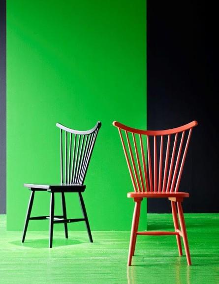 איקאה חדש קיר ירוק כסאות גובה (צילום: יחסי ציבור איקאה)