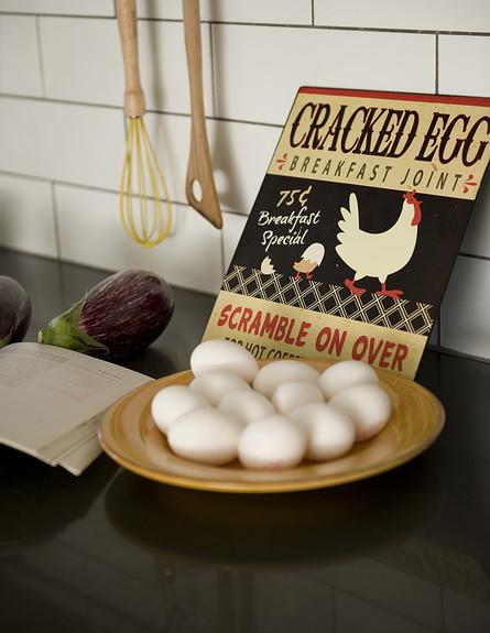 עירית צוקר, מטבח ביצים גובה