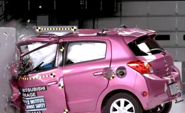 מבחן ריסוק מכוניות קטנות IIHS