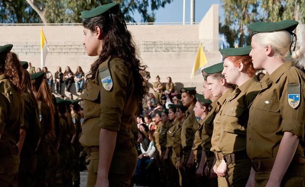 """טקס סיום מפקדות איסוף קרבי (צילום: דובר צה""""ל)"""