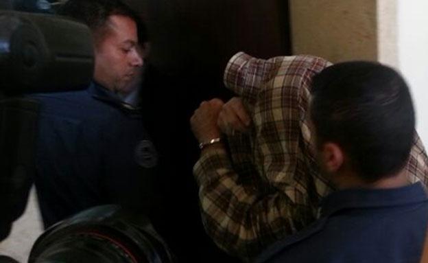 המדביר החשוד בבית המשפט (צילום: יוסי זילברמן, חדשות 2)