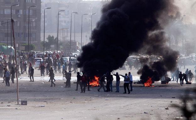 מהומות במצרים (צילום: חדשות 2)