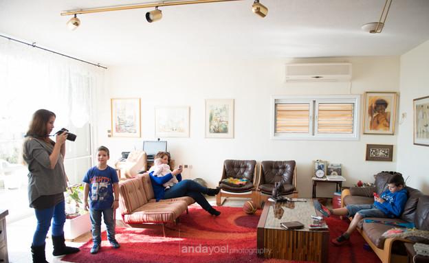 תמונה משפחתית אנדה יואל (צילום: אנדה יואל)