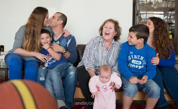 תמונה משפחתית אנדה יואל 3 (צילום: אנדה יואל)
