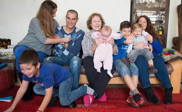 תמונה משפחתית אנדה יואל 4 (צילום: אנדה יואל)