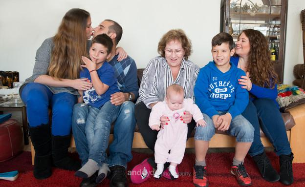 תמונה משפחתית אנדה יואל 5 (צילום: אנדה יואל)