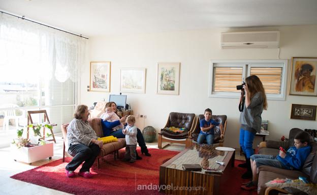 תמונה משפחתית אנדה יואל 6 (צילום: אנדה יואל)