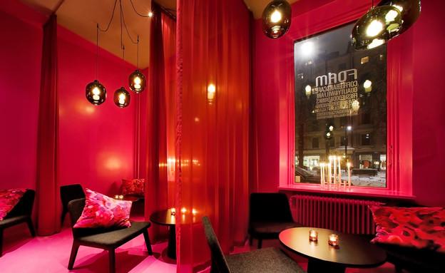 בתי קפה, שטוקהולם אדום (צילום: aperture32.com)