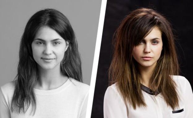 שיער דליל ונפוח - לפני ואחרי (צילום: bumbleandbumble)