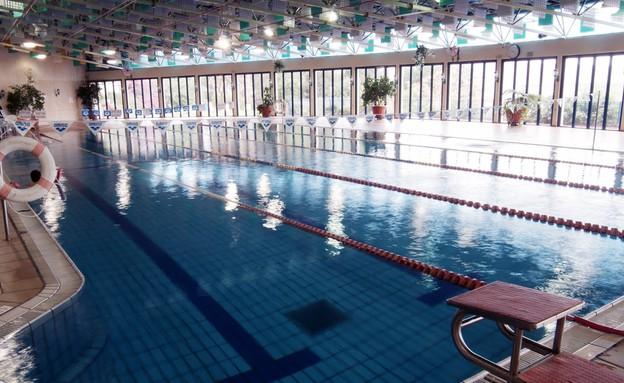 הבריכה במלון כפר גלעדי, מלונות חורף
