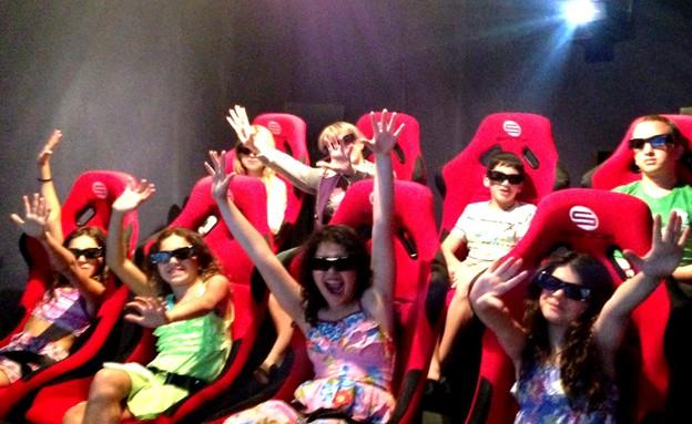 מלונות חורף, קולנוע 7 מימדים במלון לאונרדו קלאב