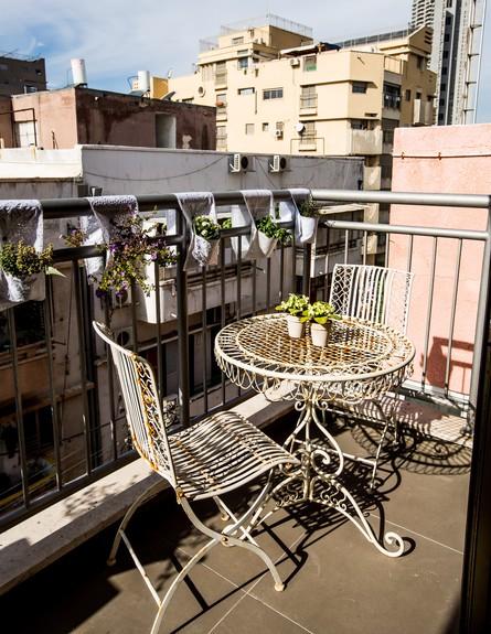 שיפוץ הלל אדריכלות, מרפסת גובה (צילום: לירן שמש)