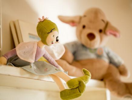 שיפוץ הלל אדריכלות, חדר ילדים בובות (צילום: לירן שמש)