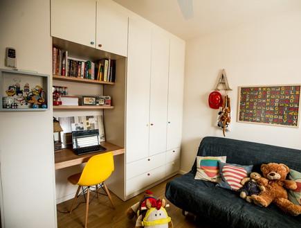 שיפוץ הלל אדריכלות, חדר משחקים ארון (צילום: לירן שמש)