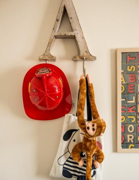 שיפוץ הלל אדריכלות, חדר משחקים קוף גובה (צילום: לירן שמש)