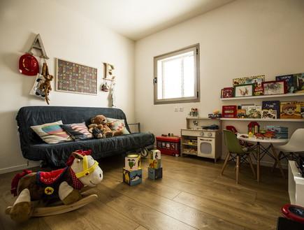 שיפוץ הלל אדריכלות, חדר משחקים (צילום: לירן שמש)