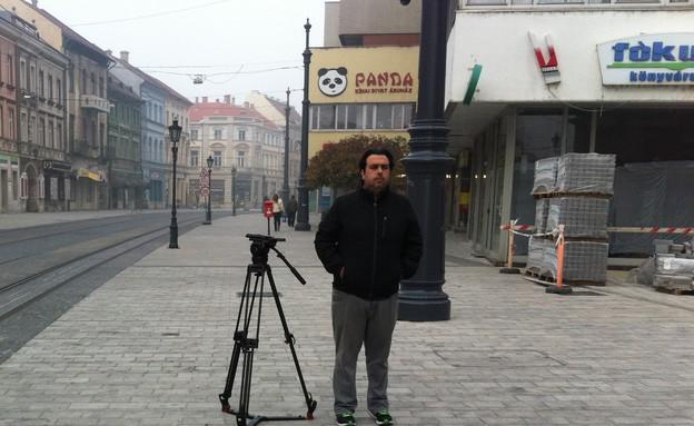 מצלמים ברחובות הונגריה (צילום: אנדרש בורגולה)