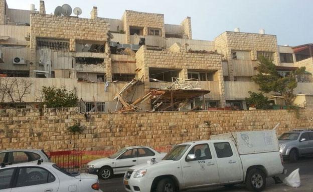 הבניין בו אירע הפיצוץ. ארכיון (צילום: חדשות 2)