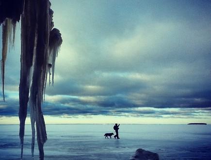 האגם, מערת הקרח בויסקונסין