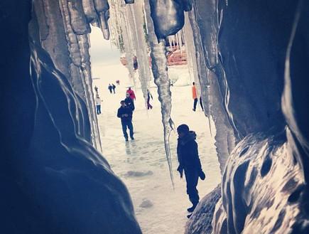 מבקרים, מערת הקרח בויסקונסין