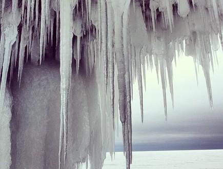 נטיפים, מערת הקרח בויסקונסין