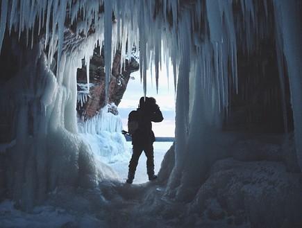 עוד מבפנים, מערת הקרח בויסקונסין