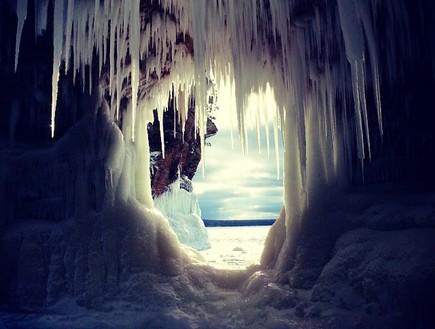 פתח, מערת הקרח בויסקונסין
