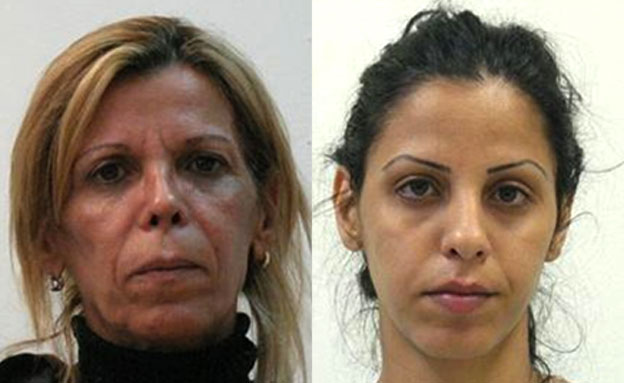 """ישלמו על מעשיהן בכלא. רוזה ואורטל ענו (צילום: דוברות המשטרה, מחוז ת""""א)"""