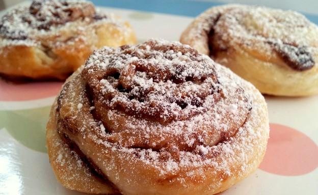 עוגיות שוקולד מבצק עלים ב-10 דקות (צילום: אפרת סיאצ'י, מתכונים ב-10 דקות)