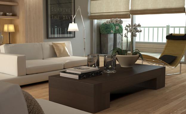 דירות למכירה, סלון (צילום: BertrandB, Thinkstock)