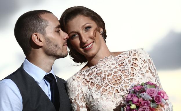 החתונה של לרה ואיתי (צילום: פוטוגנים)