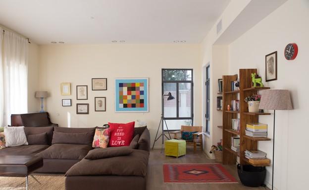 שיפוץ בית במושב (צילום: לימור הרצוג אהרוני)