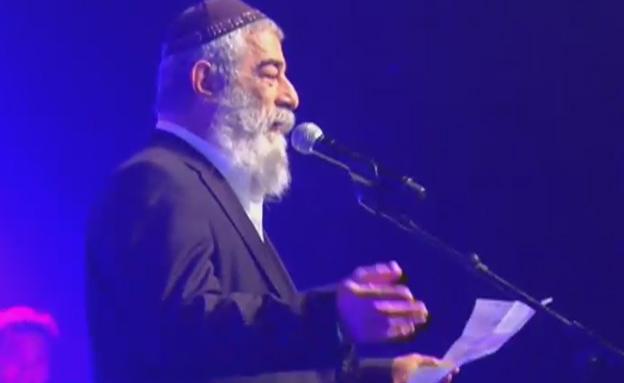 זילבר בנאום חריף (צילום: חדשות 2)