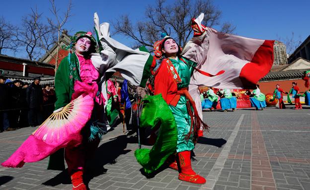 ריקוד בן 1000 שנה (צילום: רויטרס)